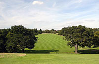 Trent Park Golf Club 2nd hole