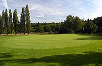 Trent Park Golf Club 13th green