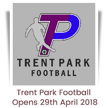 Trent Park Football - from 29th April 2018