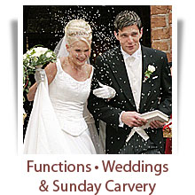 Functions, Weddings and Sunday Carvery